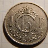 Монета. Люксембург. 1 франк 1952 года!