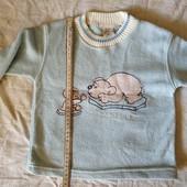 Флиска голубая для мальчика на2-3 г смотрите все лоты много одежды на этот возраст
