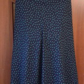 Фирменная красивая юбка в отличном состоянии р. 18-20
