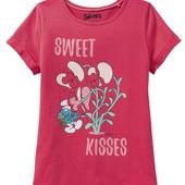 Отличная футболочка для девочки смурфики Smurfs Германия размер 98\104