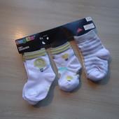 5 пар! Хлопковых носочков Lupilu®. (размер 15-18)