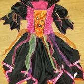 Не упустите!!@Супер яркое и красивое платье карнавальное на Хеллоуин 9-10лет замеры на фото