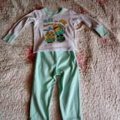 Пижамка на мальчика отличная на 3 годика