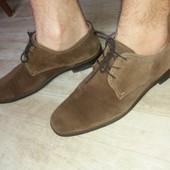 Фирменные мужские туфли. Кожа!