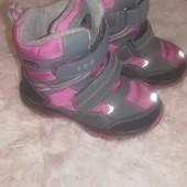 Зимние термо ботинки Бренд B&g термо мембрана, 25 р., стелька 16 см