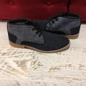 Ботинки із натуральної замші,від San Marina,розмір 41,стелька 26,5
