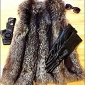 Кожаные лаковые удлинненые перчатки натуральная кожа Италия