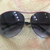 Очки солнцезащитные авиаторы женские