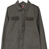 Рубашка хаки Pepperts 146 и 152 на выбор