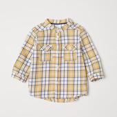 Рубашки от H&M 74, 92. С бирками, в упаковке. Качество премиум.