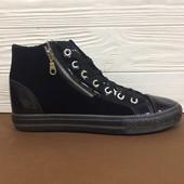 # 9-42 black(45) *20* Мужские зимние кроссовки! Распродажа последних размеров -70%