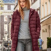 Мягусенькое стеганое демисезонное термо пальто от Blue motion германия размер 40 евро=46-48