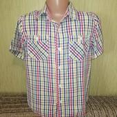 Красивая фирменная рубашка Autograph (Автограф), на 7лет, рост 122см, качественная, мерки есть