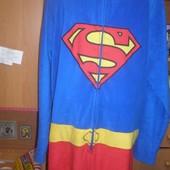 Человечек. кигуруми, пижама, слип. размер XL, костюм Superman.