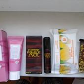 Набор женской парфюмерии и косметики.Победитель получит все 4 шт.!!!