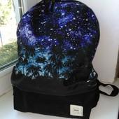 Фирменный рюкзак Vans, на 6-11клас