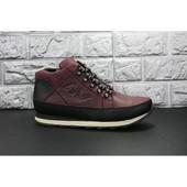 * Зимние кожаные ботинки New Balance, кожа мех натуральный, распродажа последних размеров -70%