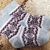 Шерстяные натуральные носочки 36-41 р