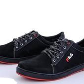 Мужские демисезонные, качественные кроссовки Fila 40-45рр, последние размеры