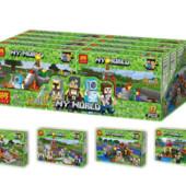 Конструктор Minecraft «Постройки» 100 деталей