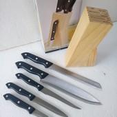 Набор ножей Weiner на деревянной подставке