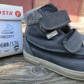 Утепленные ботинки кожаные еврозима Ricosta Pepino 14.5