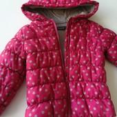 Демісезонна куртка для дівчинки, розмір 92-98