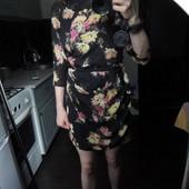 Asos, платье цветочное размер М