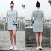 Платье с воротничком Zara, L
