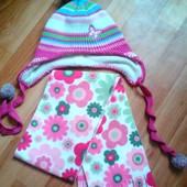 Двухсторонний шарф и шапка... одним лотом