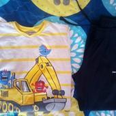 Комплект на мальчика Реглан Waikiki и спортивные штаны 134/140 р. Отл.сост.