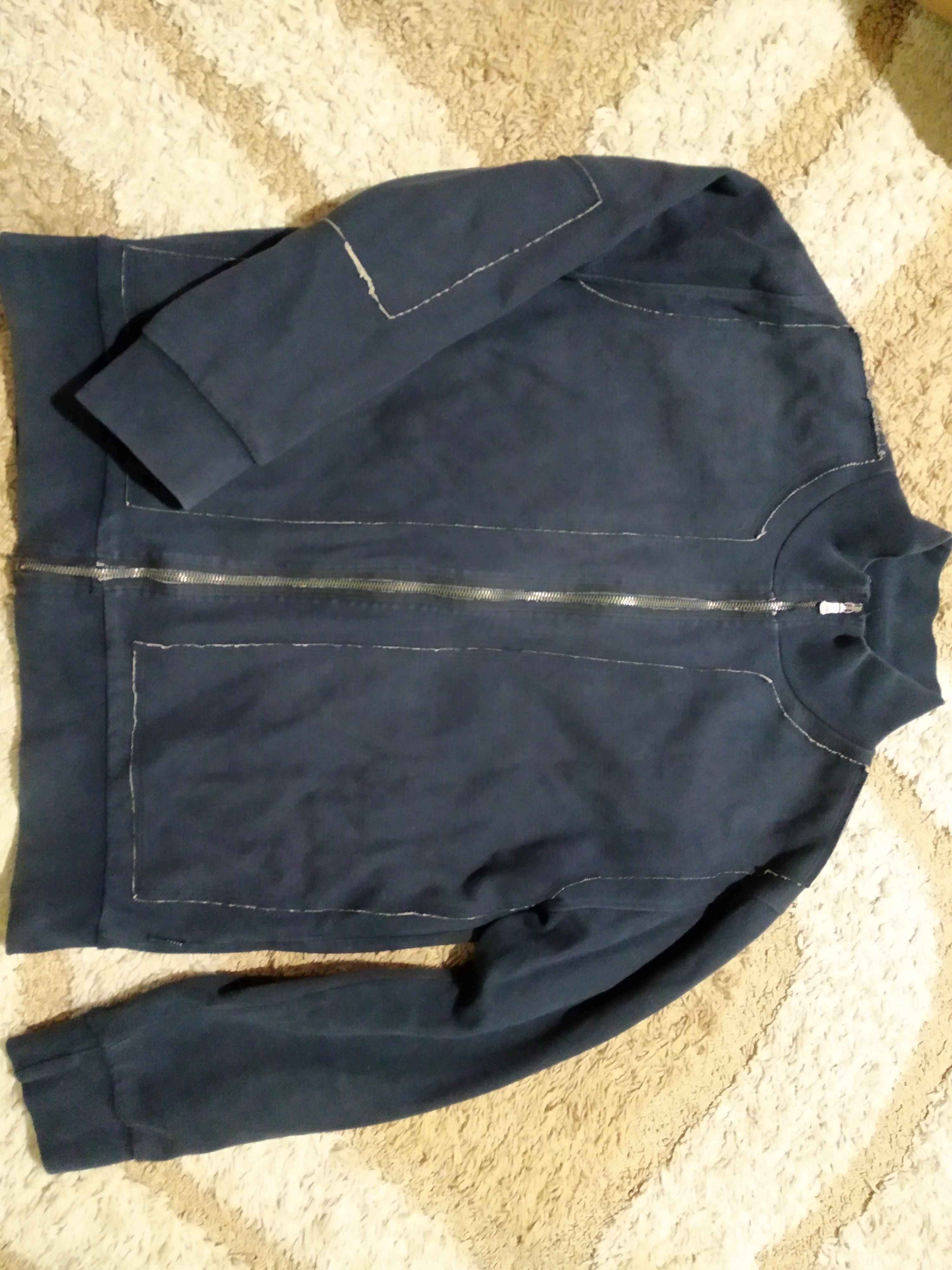 Двойная хлопковая мужская кофта Ted Baker, размер L (рост 170-180 см)