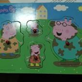 Деревянный пазл со Свинкой Пеппой