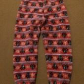 См все лоты. Теплые пижамные штанишки травка с минни маус дисней 5-6,5 лет отл сост без нюансов