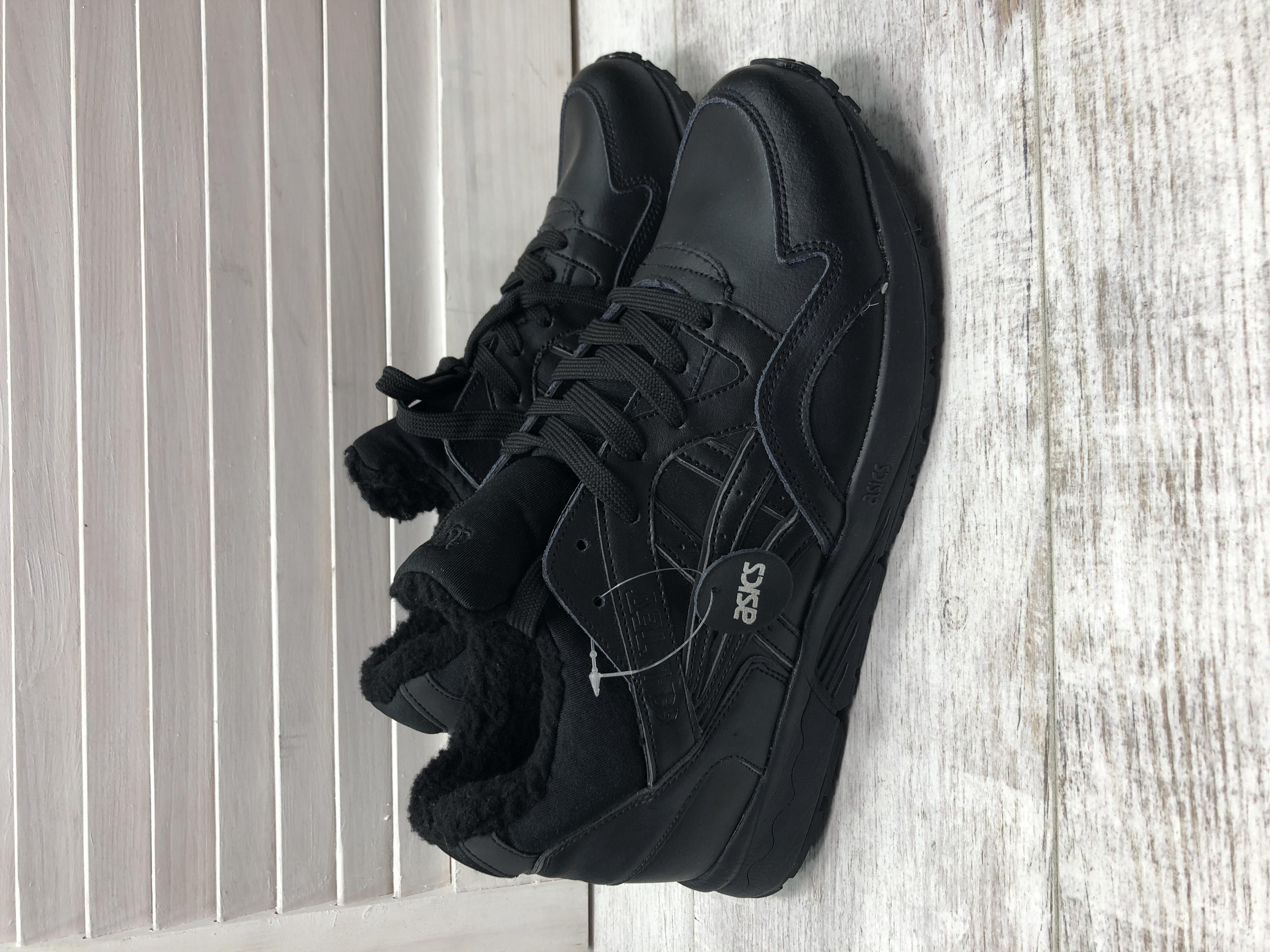 Мужские зимние кроссовки!Кожа!размер 45-29см - Фото №2