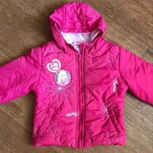 Деми куртка Барби на 1,5-3 года