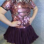 Смотри какая красота!!! Блузка + юбка-пачка американка. Очень нарядные.