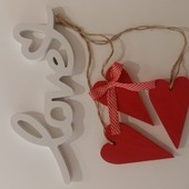 Декоративный подвес ко дню святого Валентина (14 февраля)