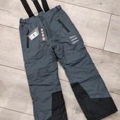 Зимние штаны полукомбинезон Cool club (не промокают и не продуваются,имеются отражатели)