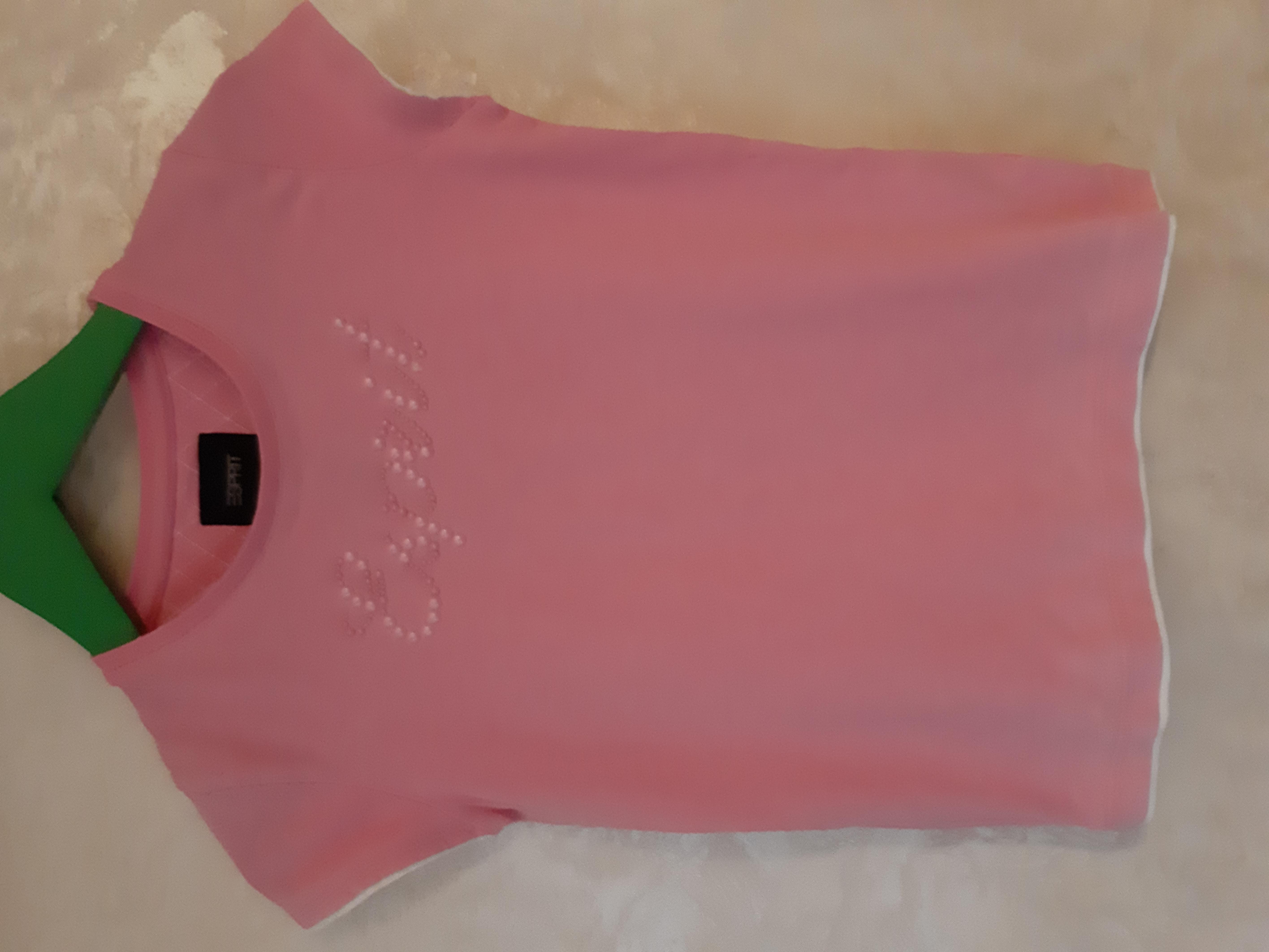 Стоп ! Стильна яскрава футболка з бусінками фірми Espirit - Фото №1