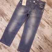 Фирменные брендовые джинсики с утяжкой в талии р122.7лет. Инсити