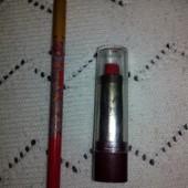 Лот,помада и карандаш для губ,цвет красный