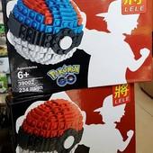 """Конструктор """"Pokemon GO"""" аналог lego - 234 детали!!! В лоте 1 конструктор))) красный!!!"""