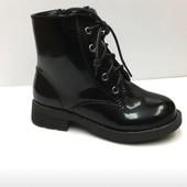 Демисезонні чобітки для дівчинки!!!Розмір 34.Польша!!!