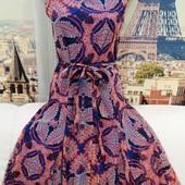 Платье со съёмным поясом,S.Oliver, размер М.