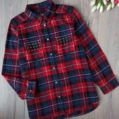 Рубашка для девочки 11-12лет. YD.