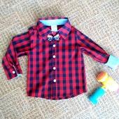 Новая стильная рубашка для мальчика! Много хороших лотов!
