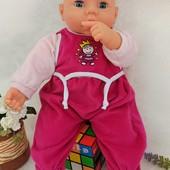 Кукла пупс озвученный Bayer 43 см