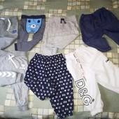 Пакет штанишек для мальчика 3-6 мес. 7 предметов.