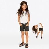 Джинсовые шорты на девочку Lupilu модная коллекция heidi klum размер 92